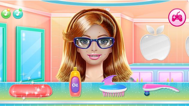 Games Hair Salon:  love  Hairstyle Color Makeover screenshot 18