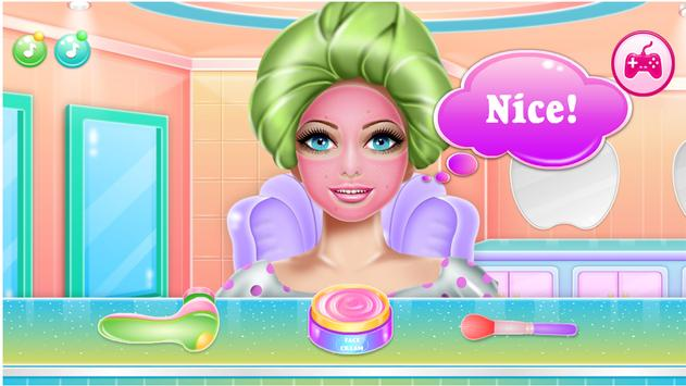 Games Hair Salon:  love  Hairstyle Color Makeover screenshot 6