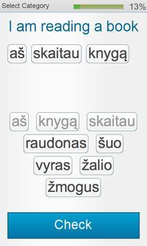 Learn Lithuanian - Fabulo screenshot 1