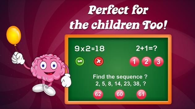Brain Games Mind IQ Test - Trivia Quiz Memory screenshot 6