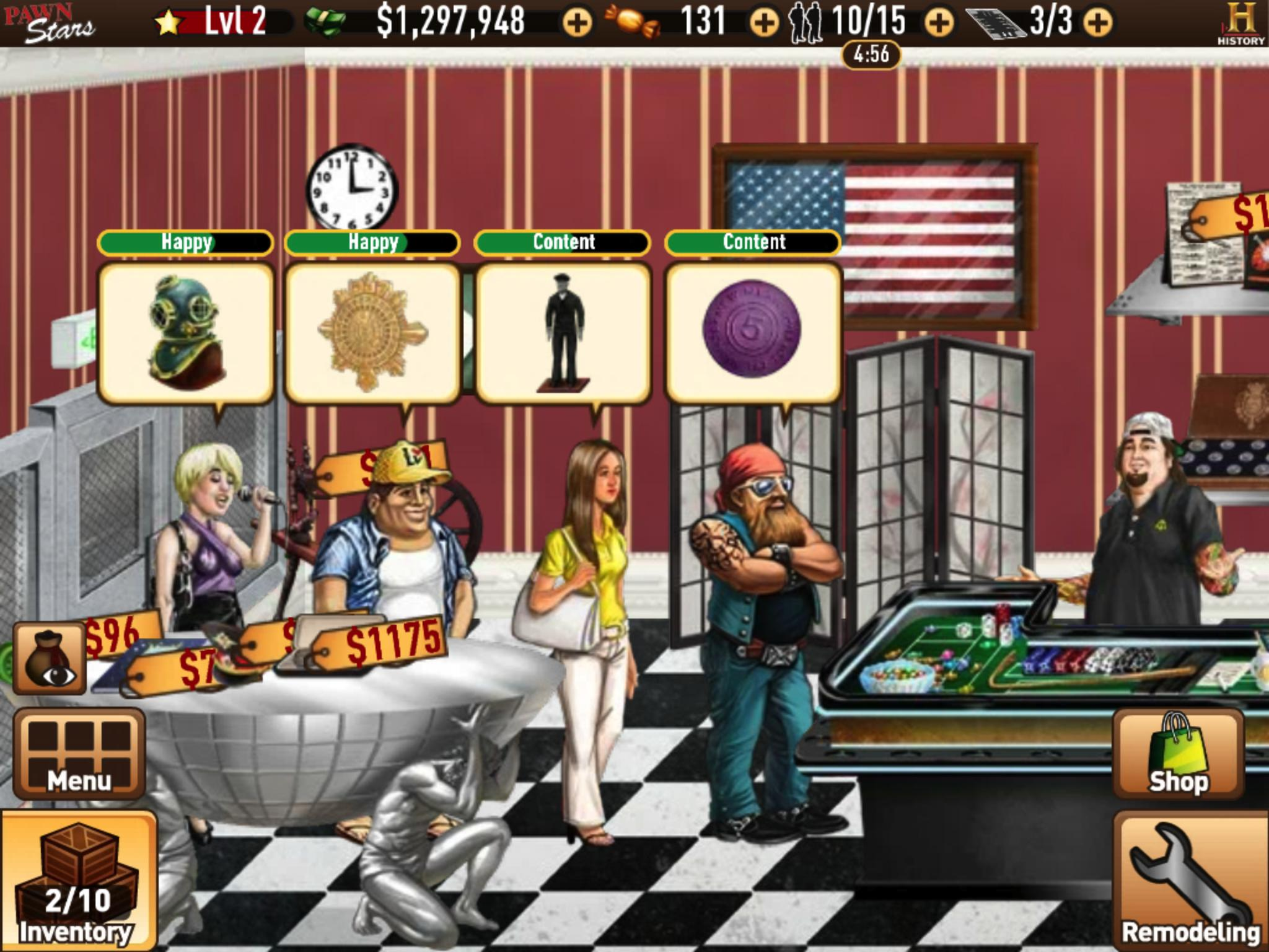 Pawn stars: the game online game on facebook: overview.