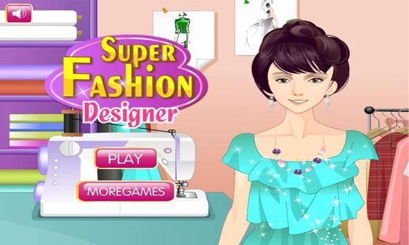 Top diseñador de moda Poster