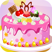 Yummy Cake Cooking Games icon