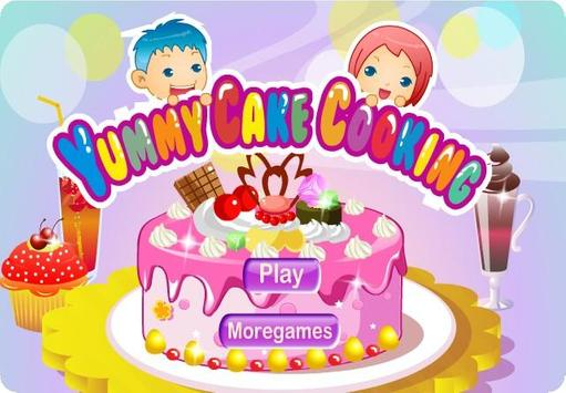 Yummy Cake Cooking Games poster