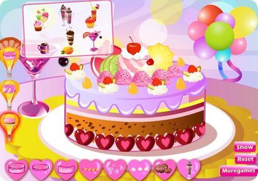 Yummy Cake Cooking Games screenshot 1