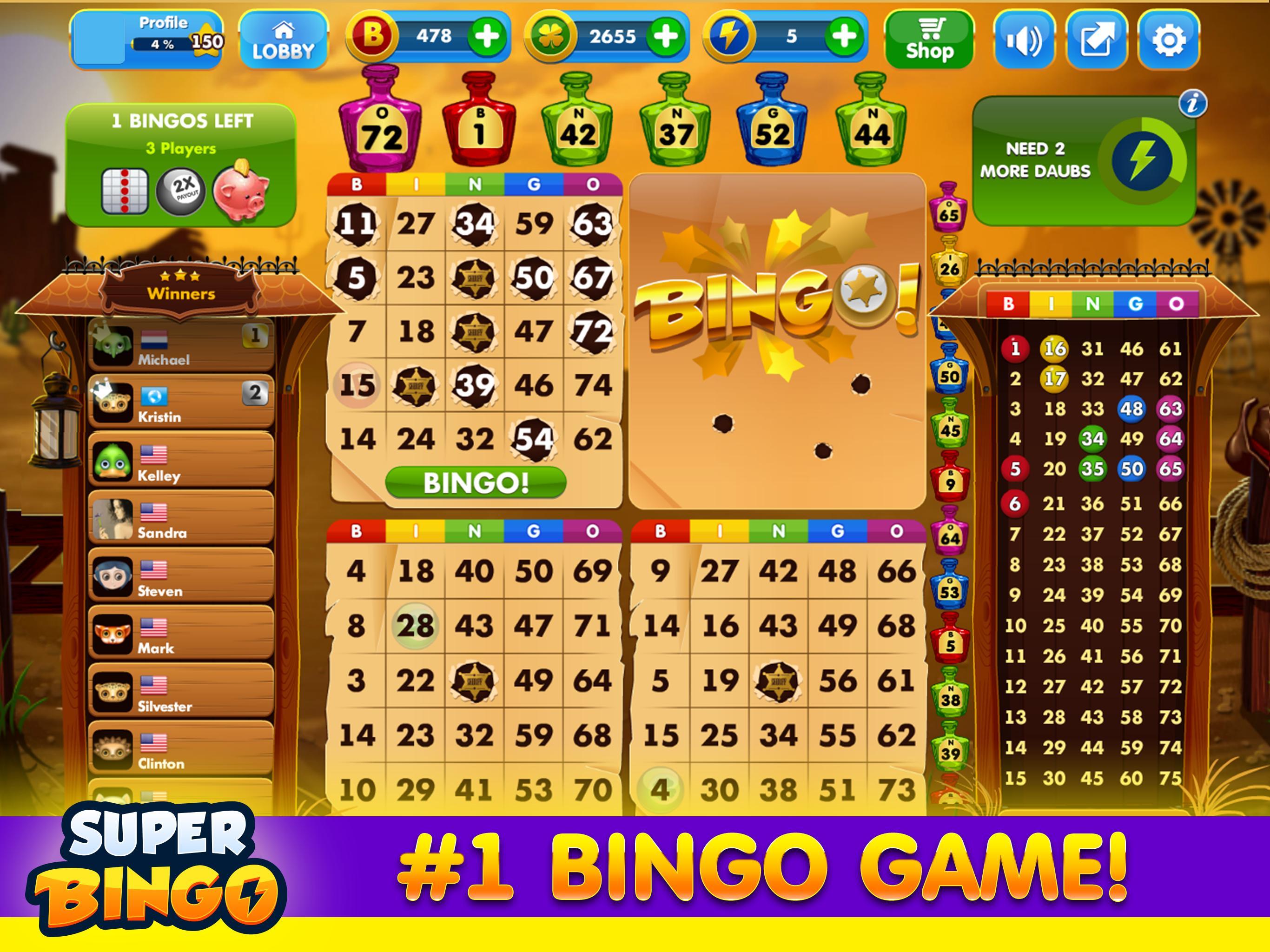 Bingo Free Online Games