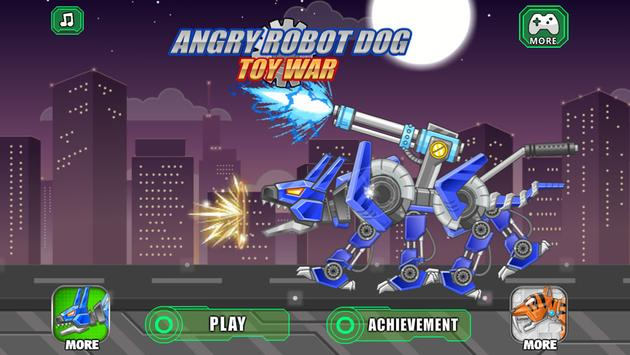 Angry Robot Dog Toy War plakat