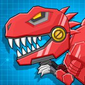 机器霸王龙 - 组装机器人大战 图标