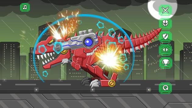 机器霸王龙 - 组装机器人大战 海报