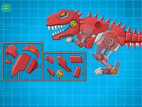 机器霸王龙 - 组装机器人大战 截图 2