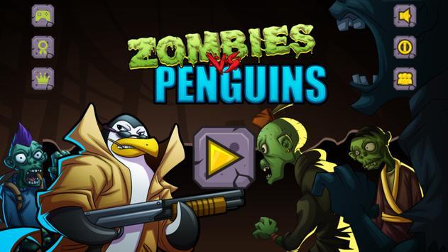 Zombies vs Penguins poster