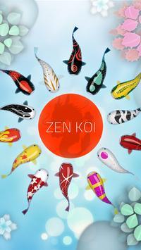 Zen Koi Affiche