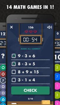 Math Games PRO - 14 in 1 screenshot 1