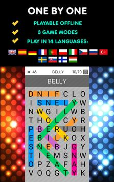 One By One - Multilingual Word Search screenshot 16