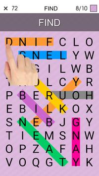 One By One - Multilingual Word Search screenshot 19