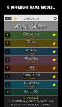 Word Gram PRO screenshot 1