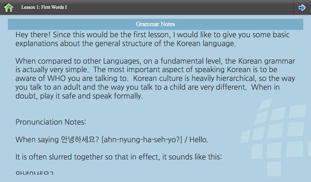 L-Lingo Learn Korean screenshot 14
