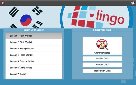 L-Lingo Learn Korean screenshot 6