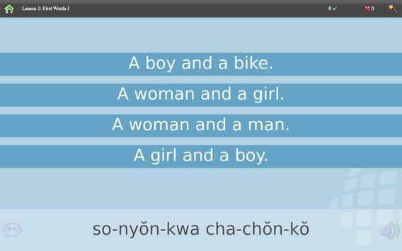 L-Lingo Learn Korean screenshot 7