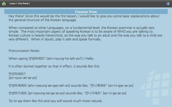 L-Lingo Learn Korean screenshot 9