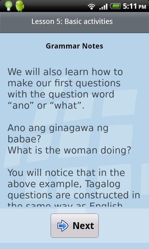 L-Lingo Learn Tagalog for Android - APK Download