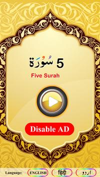 Five Surah screenshot 8