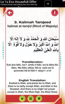 Arabic alphabets and 6 kalimas screenshot 4
