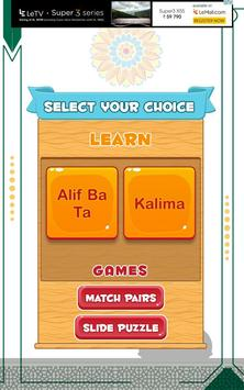 Arabic alphabets and 6 kalimas screenshot 8