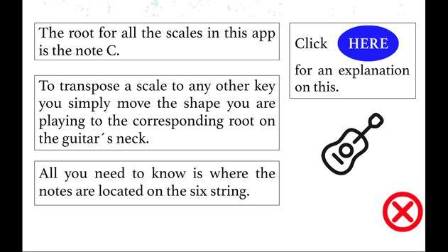 Guitar Scales screenshot 2