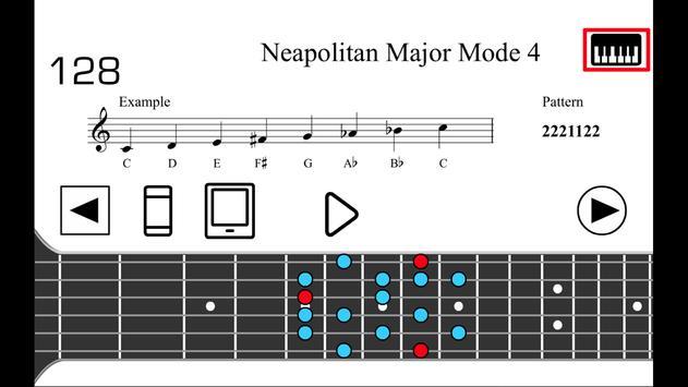 Guitar Scales PRO Ekran Görüntüsü 3