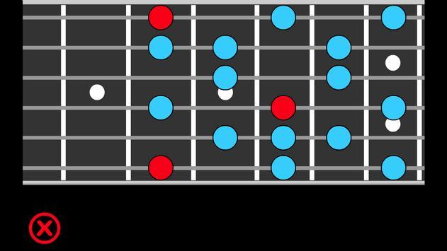 Guitar Scales PRO Ekran Görüntüsü 5