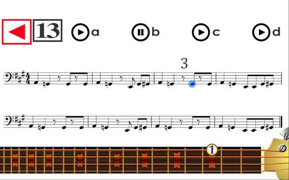 Learn to play Bass Guitar PRO screenshot 1
