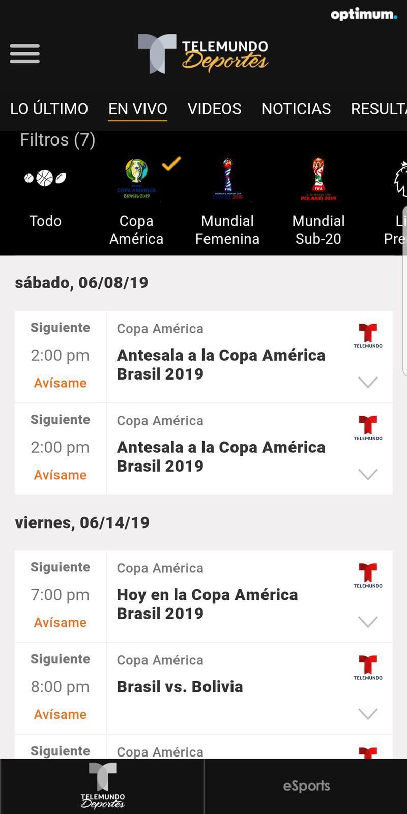 Telemundo Deportes for Android - APK Download