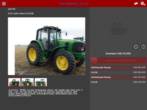 Doug Johnson Auction Service Live screenshot 3