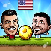 Puppet Soccer 2014 – Big Head Football MOD + APK