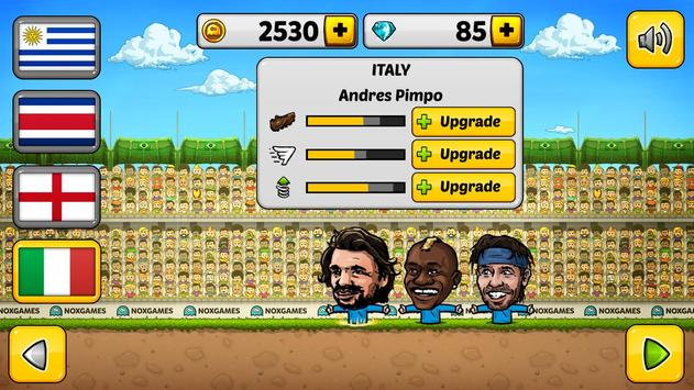 ⚽Puppet Soccer 2014 - Big Head Football 🏆 screenshot 5