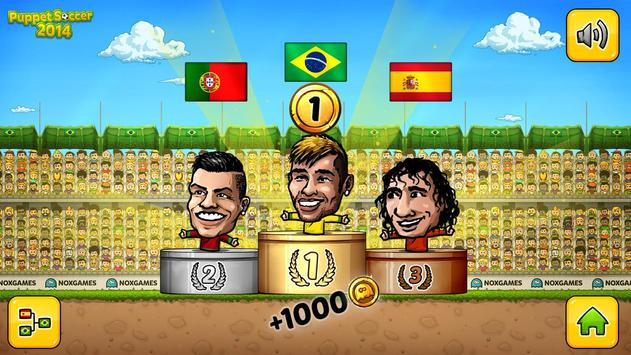 ⚽ Fútbol de títeres 2014 - Fútbol ⚽ captura de pantalla 14