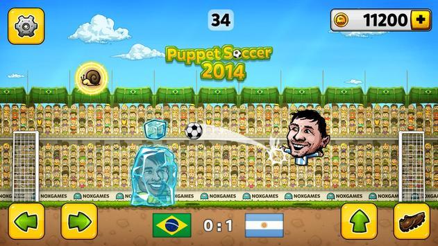 ⚽Puppet Soccer 2014 - Big Head Football 🏆 screenshot 8
