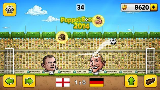 ⚽ Fútbol de títeres 2014 - Fútbol ⚽ captura de pantalla 1