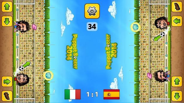 ⚽Puppet Soccer 2014 - Big Head Football 🏆 screenshot 15
