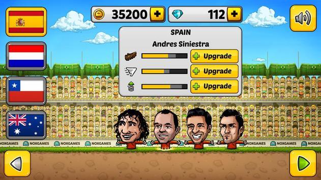 ⚽ Fútbol de títeres 2014 - Fútbol ⚽ captura de pantalla 20