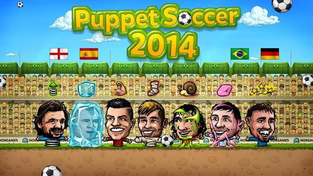 ⚽Puppet Soccer 2014 - Big Head Football 🏆 screenshot 3