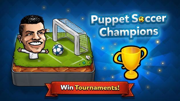2 Schermata ⚽ Puppet Calcio Champions – League ❤️🏆