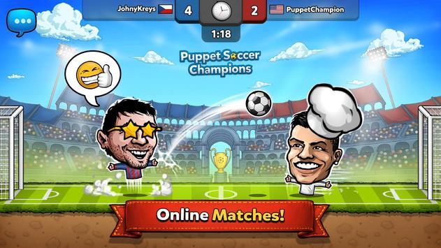 6 Schermata ⚽ Puppet Calcio Champions – League ❤️🏆
