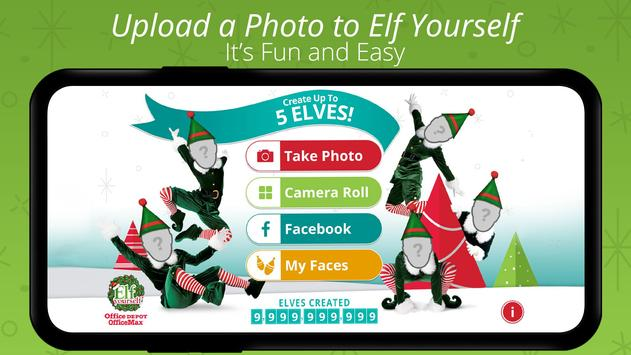 ElfYourself® By Office Depot poster