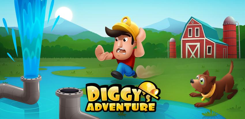 Diggy's Adventure: मस्त Logic Puzzle व Maze Escape APK