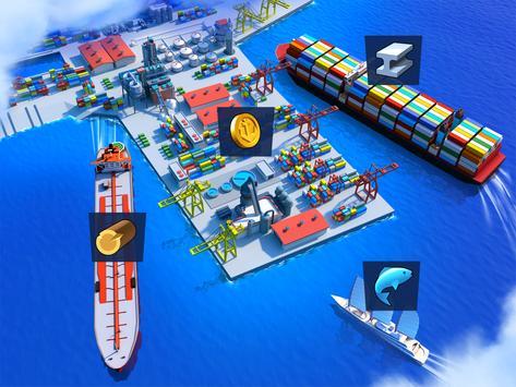 Sea Port: Ship Transport Tycoon & Business Game screenshot 18