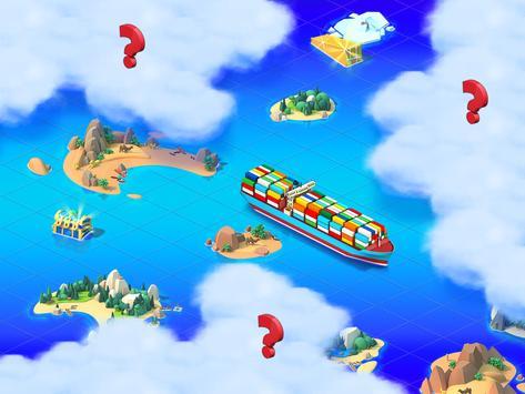 Sea Port: Ship Transport Tycoon & Business Game screenshot 11
