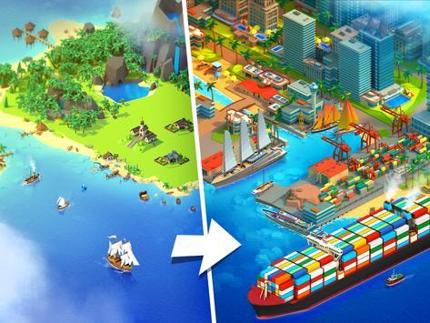 Sea Port: Ship Transport Tycoon & Business Game screenshot 8