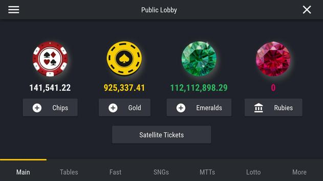 Pocket Poker Room screenshot 4